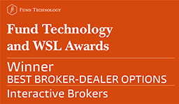 Interactive Brokers reviews: 2017 Fund Technology and WSL Institutional Awards - Best Broker-Dealer Options