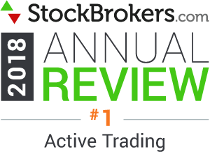 Interactive Brokers reviews: 2018 Stockbrokers.com Awards - rated #1 in 2018 for Active Trading