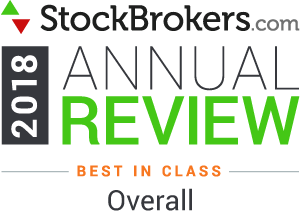 Interactive Brokers reviews: 2018 Stockbrokers.com Awards - rated Best in Class Overall in 2018
